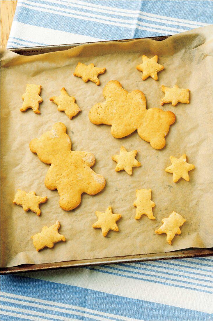 型ぬきクッキー