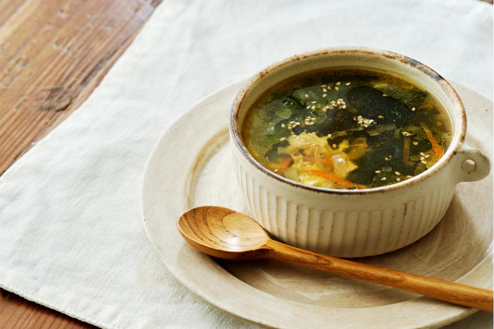 ごま中華スープ