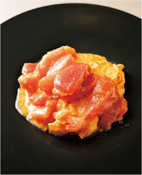 トマトと卵の炒め