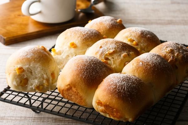 コーンちぎりパン