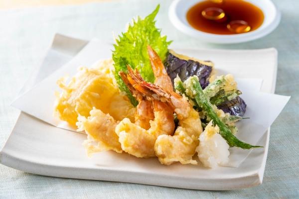 小えびと野菜の天ぷら
