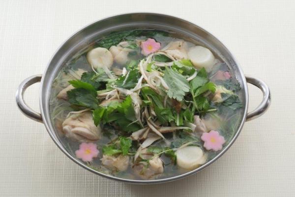 たっぷりごぼうの鶏塩鍋