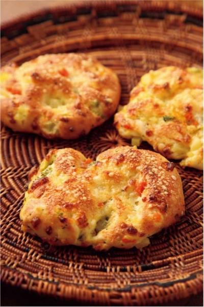 お野菜、チーズのガレット