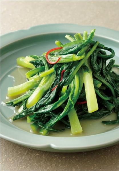 シンプル青菜炒め