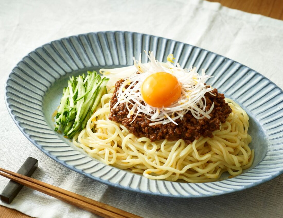 肉味噌と野菜のジャージャー麺