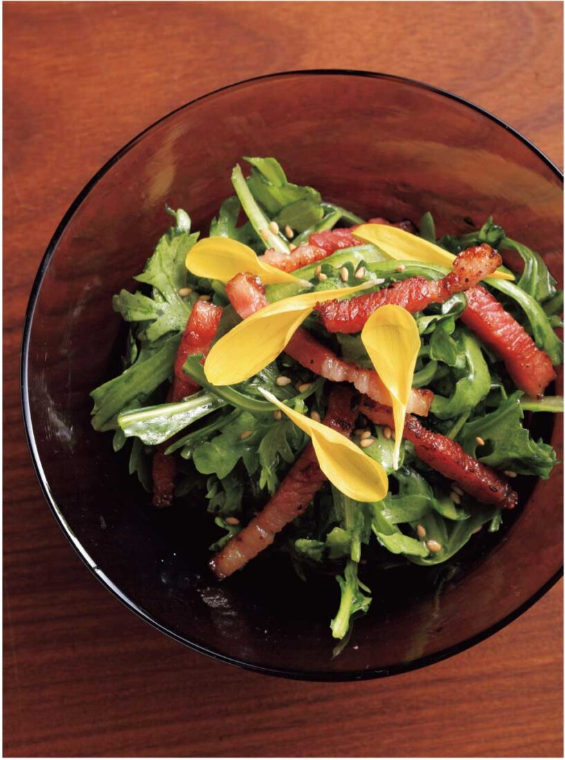 春菊のチョレギサラダ