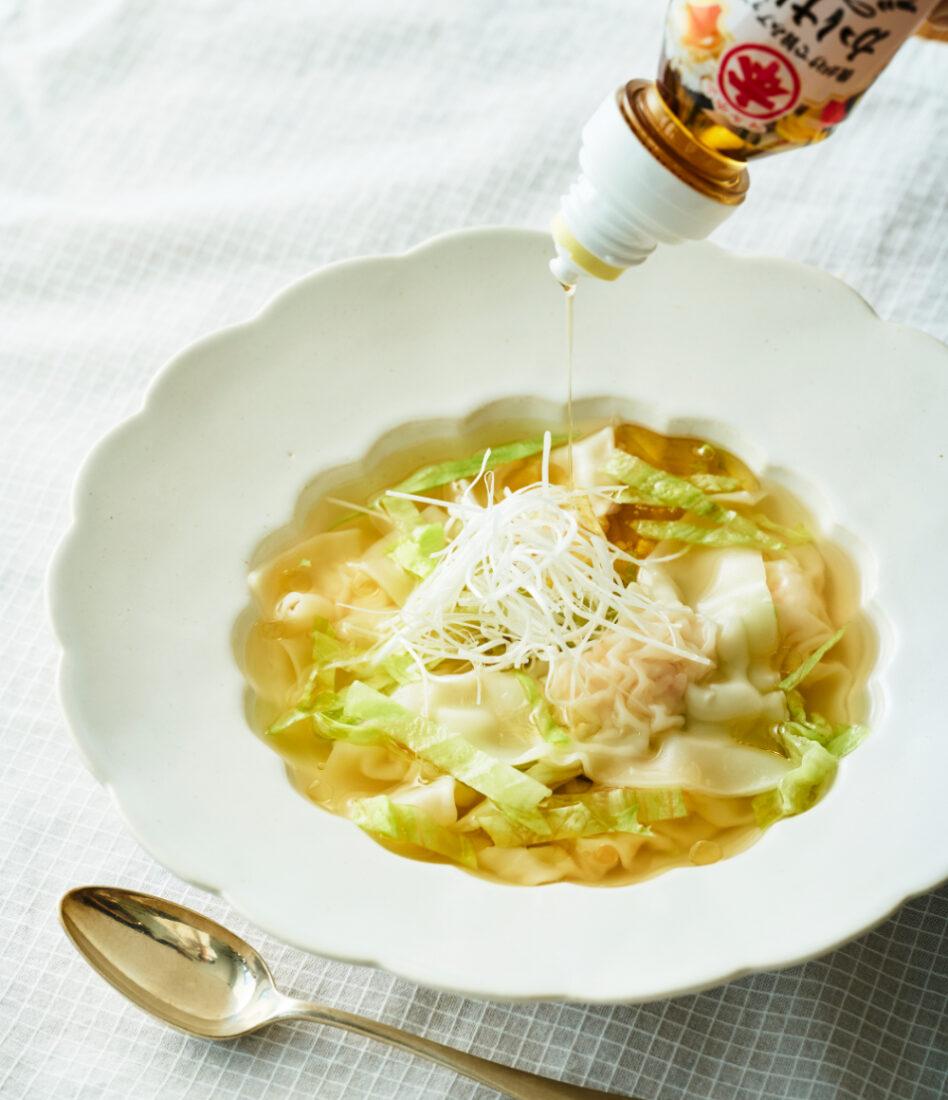 えびのワンタンスープ